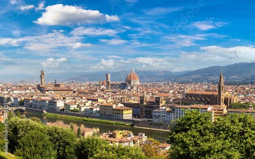Obraz na dibondzie (fotoboard) Panoramiczny widok z Florencji