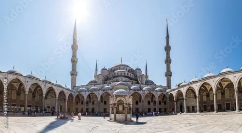 Plakat Błękitny meczet w Istanbuł