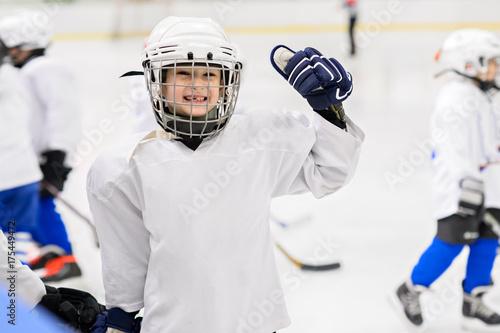 Fotografía  Kids hockey.
