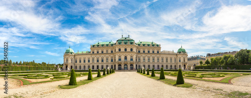 Belvedere Palace in Vienna, Austria Wallpaper Mural