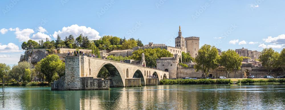 Fototapety, obrazy: Saint Benezet bridge in Avignon