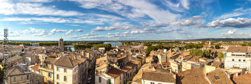 Photo Aerial view of Arles, France