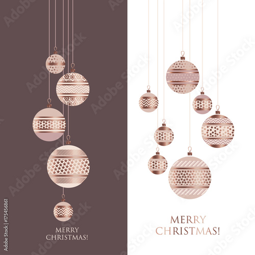 luxury style bauble ornament vector illustration xmas and new year fancy ornament motif for card
