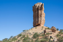 Famous Tall Rock Formation The...