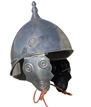 Warrier's Armour Helmet On White