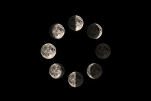 Images Of The Moon In Each Maj...