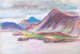 Panorama of mountains - 175493824