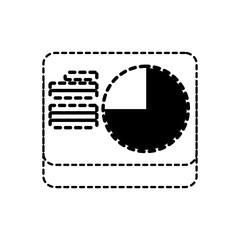 Fototapeta na wymiar data stadistic vector illustration