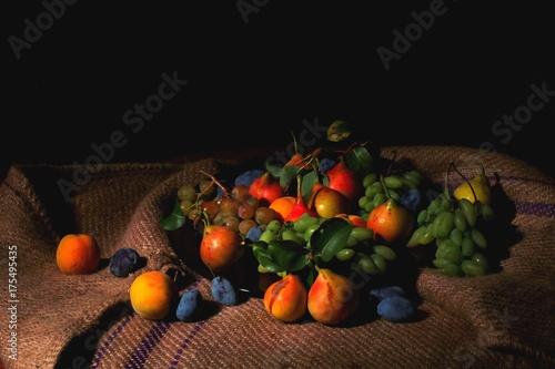 Fotografie, Obraz  Frutta caravaggio