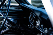 60s Model Ford Mustang Interior