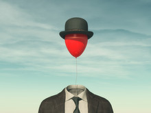.Man With A Red Balloon