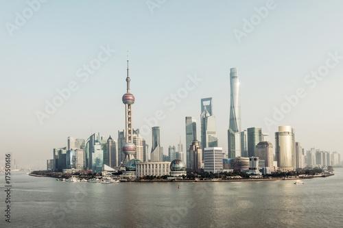 Plakat Centrum finansowe huangpu Shanghai