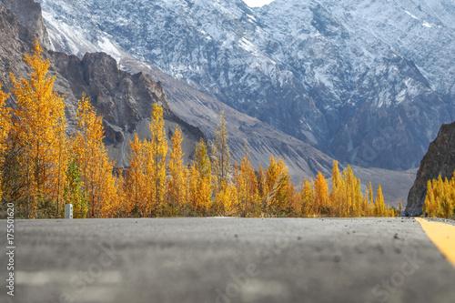 Plakat Kararoram Highway - Pakistan
