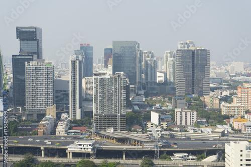 Bangkok skyline Poster