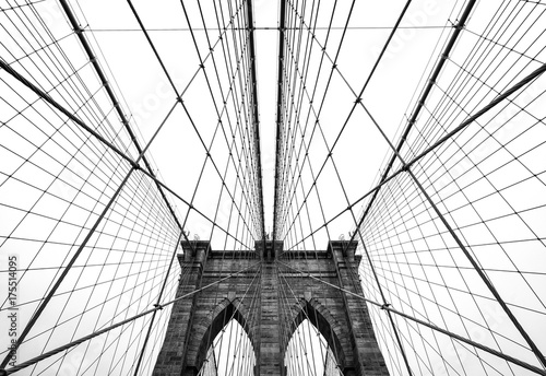 Photo  Brooklyn bridge of New York City, USA