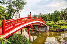 Japanese Garden Bridge In Sing...