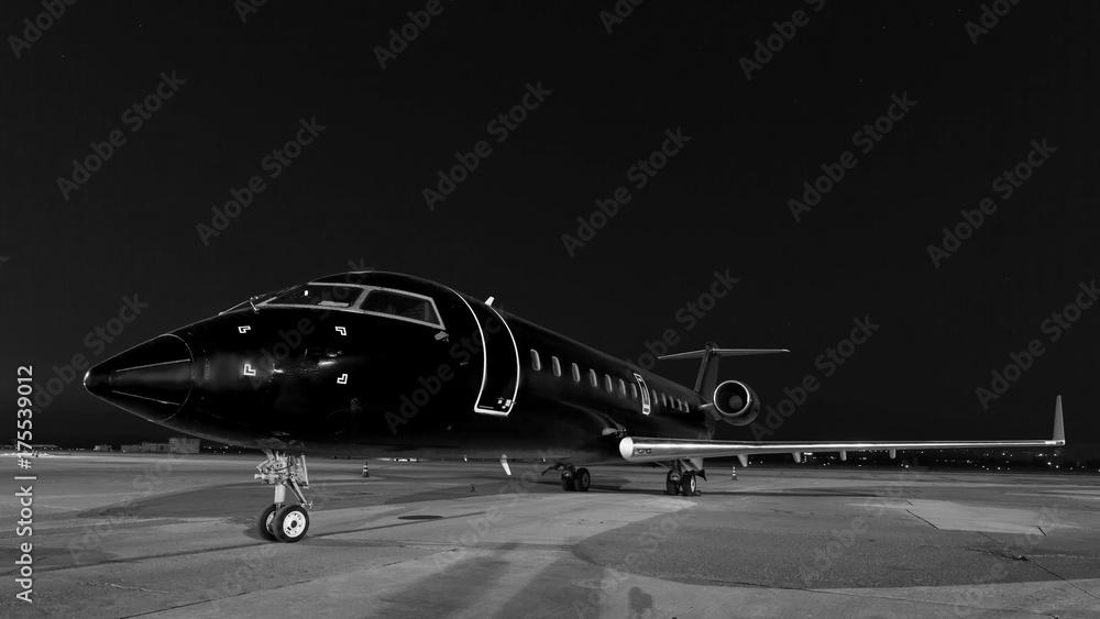 Fototapety, obrazy: business jet. plane is parked