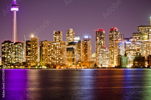 Fototapeta Lampki nocne w Toronto