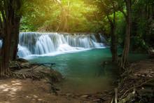 Huai Mae Khamin Waterfall In K...