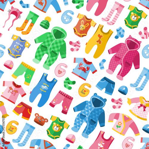 Photo Seasonal infant clothes for kids babyish fashion infantile puerile cloth vector