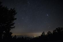 Cielo Stellato In Montagna