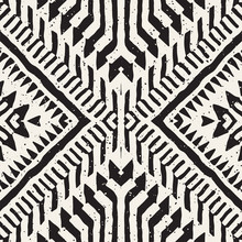 Black And White Tribal Vector ...