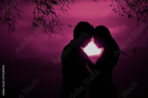 Fototapeta  pink love never gets old