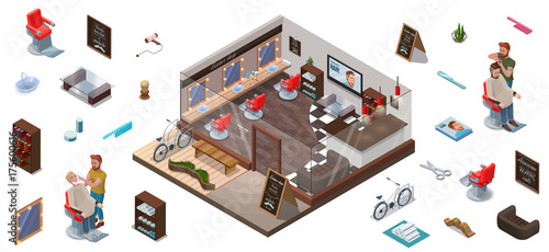 Virtual barber shop similar