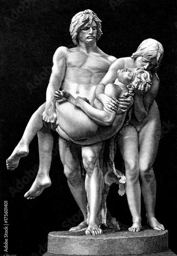 First Funeral Adam And Eve Carry The Body Of Abel Kaufen Sie