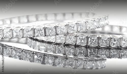 photos d'illustration de l'industrie du diamant Wallpaper Mural