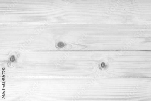 Fotografie, Obraz  White wood texture background.