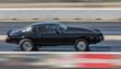 Drag Racing Tire Burnout