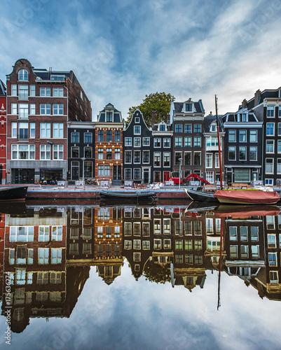 Fotodibond 3D Refleksje z Amsterdamu