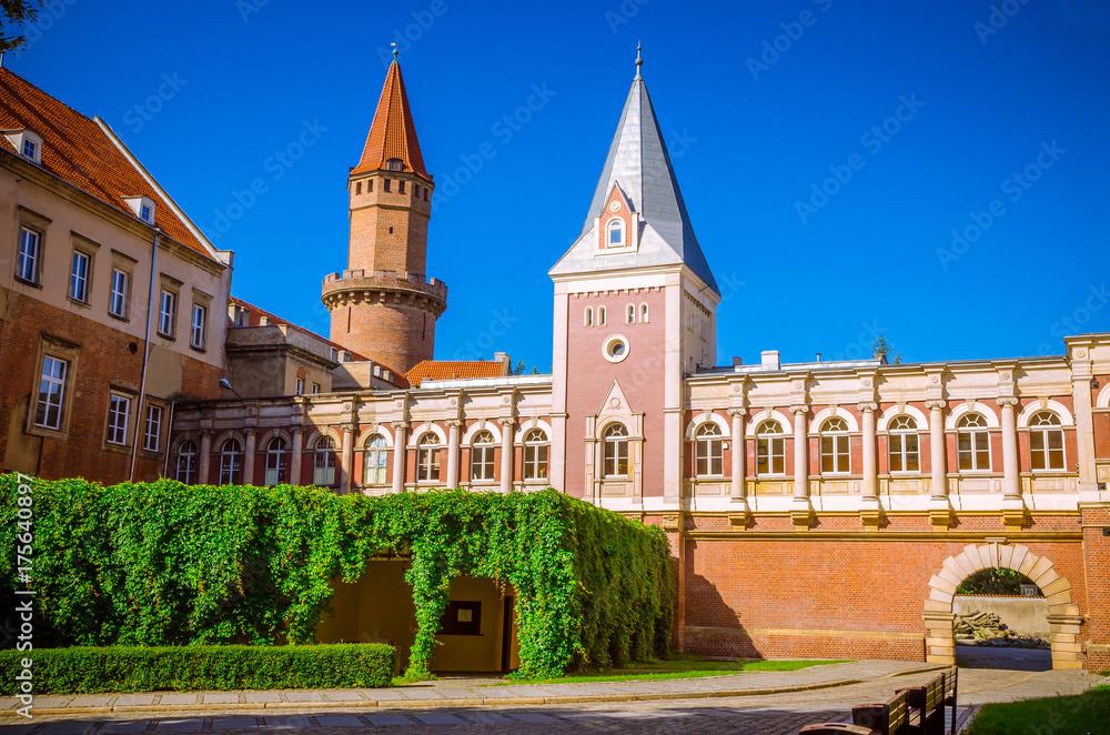 Fototapety, obrazy: Gothic Piast Castle (Zamek Piastowski) in Legnica, Silesia, Poland