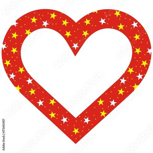 Christmas Heart Vector.Heart Vector Icon Christmas Frame Buy This Stock Vector