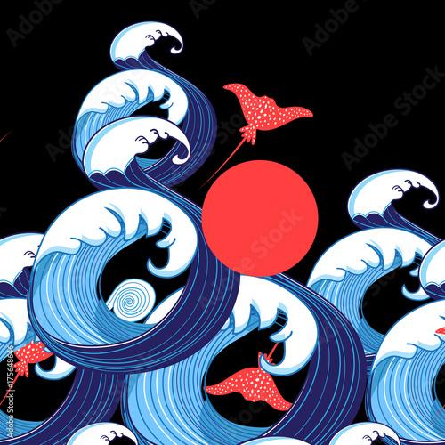 fale-morskie