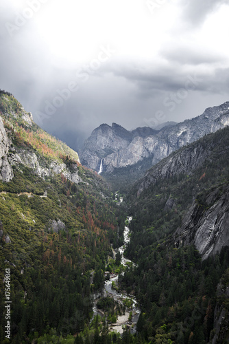 Merced Gorge Canvas Print