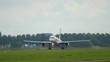 Jet Airplane take-off