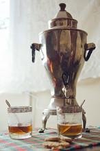 Russian Samovar For Making Tea