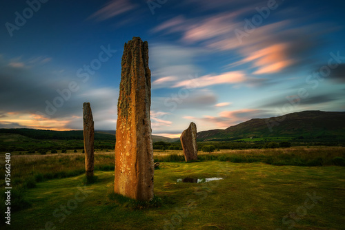 Photo Machrie Moor sunset