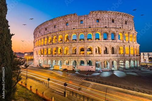 Zdjęcie XXL Koloseum w Rzymie, Włochy