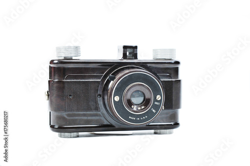 A dusty, used vintage 1930's film camera. Canvas Print