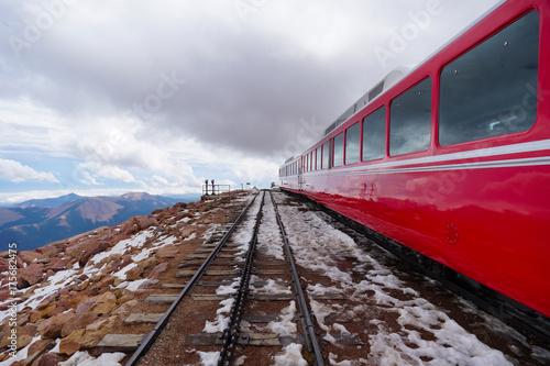 Zdjęcie XXL Pociąg wysokogórski