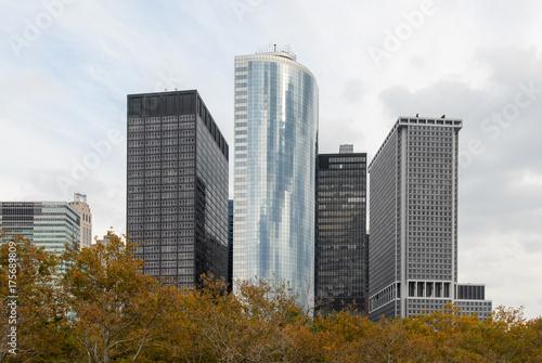 Photo  Battery Park Skyscraper - New York City