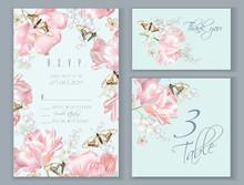 Tulip Butterfly Card Set