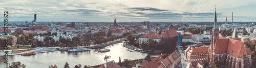Wroclaw Panorama II Obraz na płótnie
