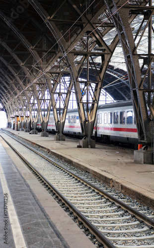 Papiers peints Gares Leipzig Hauptbahnhof