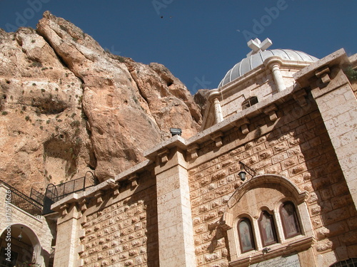 Maalula is a Christian village in Syria that speaks Aramaic language of Jesus Wallpaper Mural