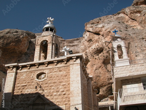 Photo Maalula is a Christian village in Syria that speaks Aramaic language of Jesus