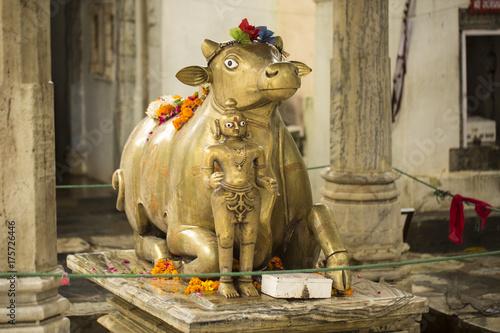 Zdjęcie XXL Statua Nandi Bull